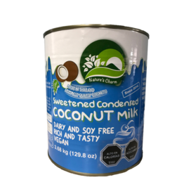 Nature´s Charm Leche De Coco Condensada azucarada, 320ml