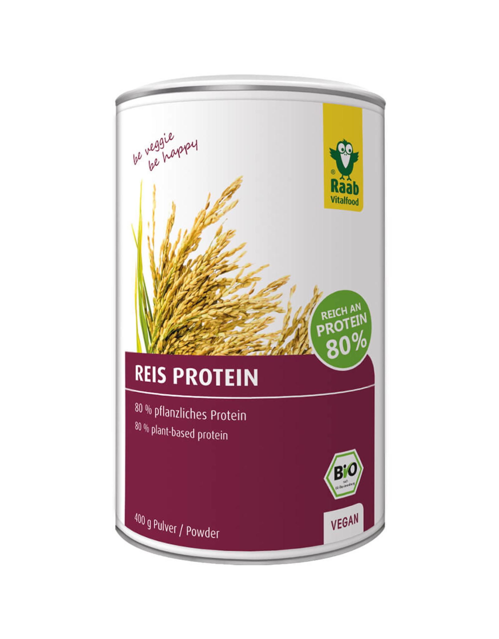 Raab Vitalfood Polvo de proteína de arroz 400g