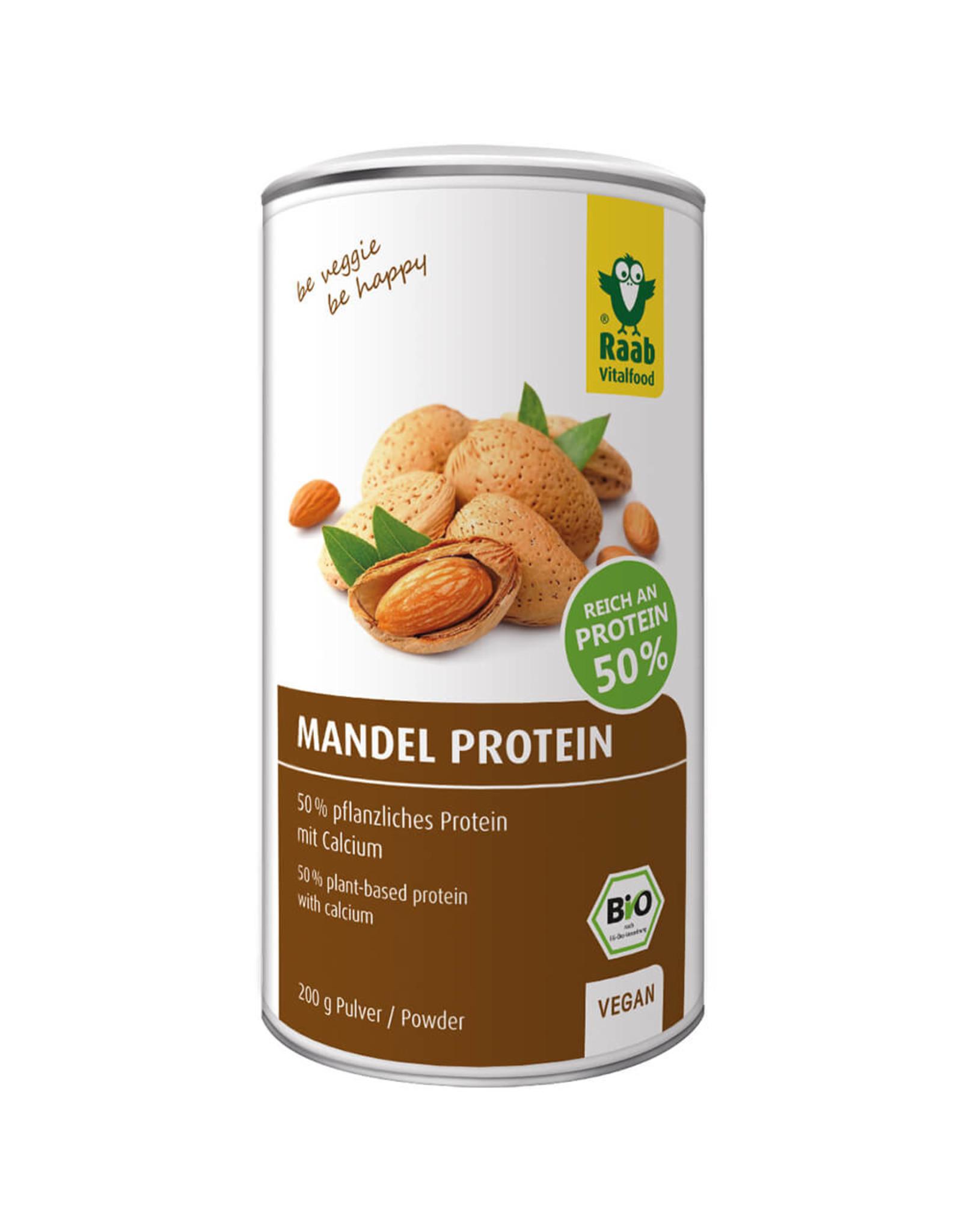 Raab Vitalfood Mandel-Protein Pulver 200g