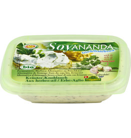 Soyana Queso crema alternativo a las hierbas y al ajo 140g