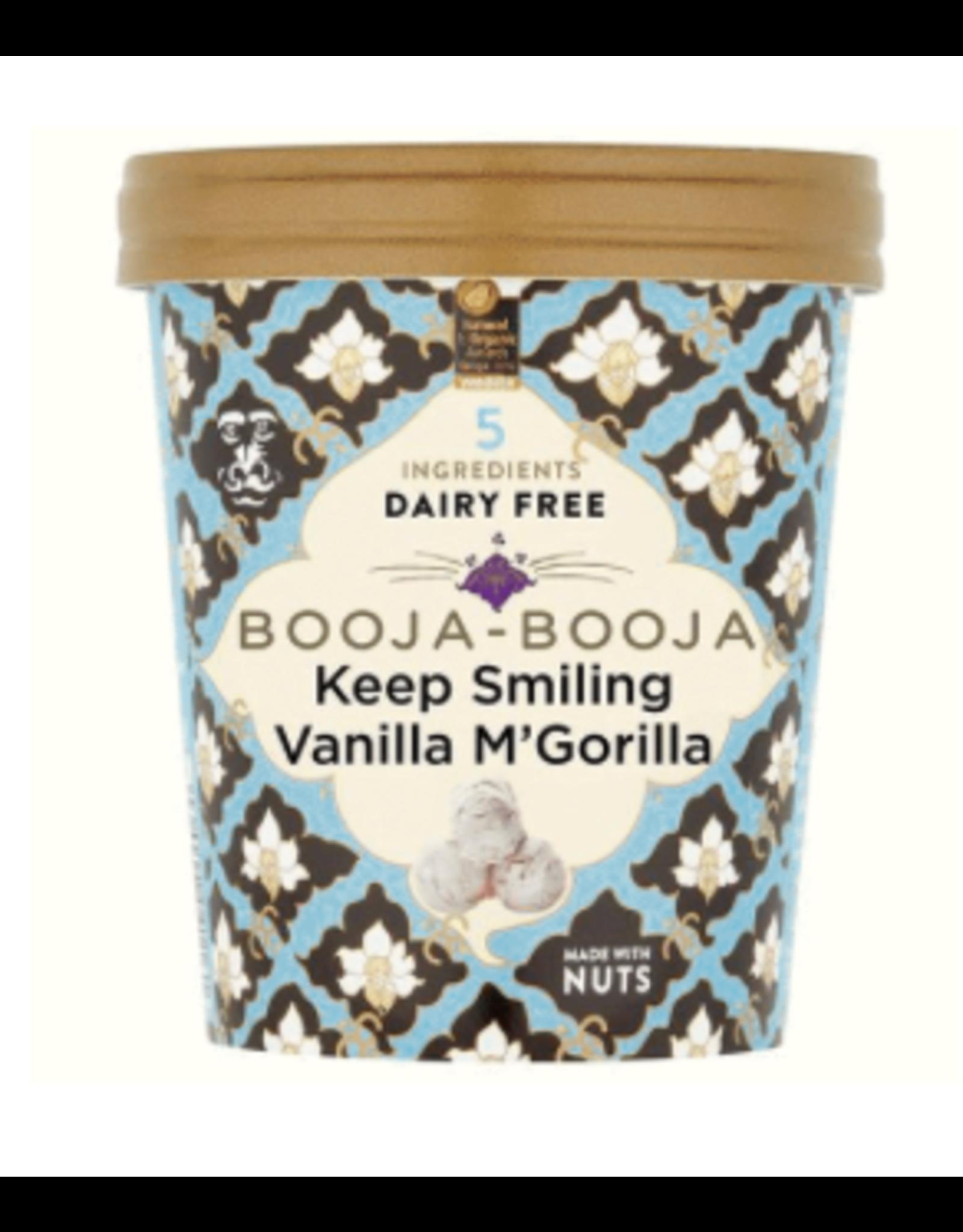 Booja Booja Vanille M'Gorilla-Eiscreme 500ml