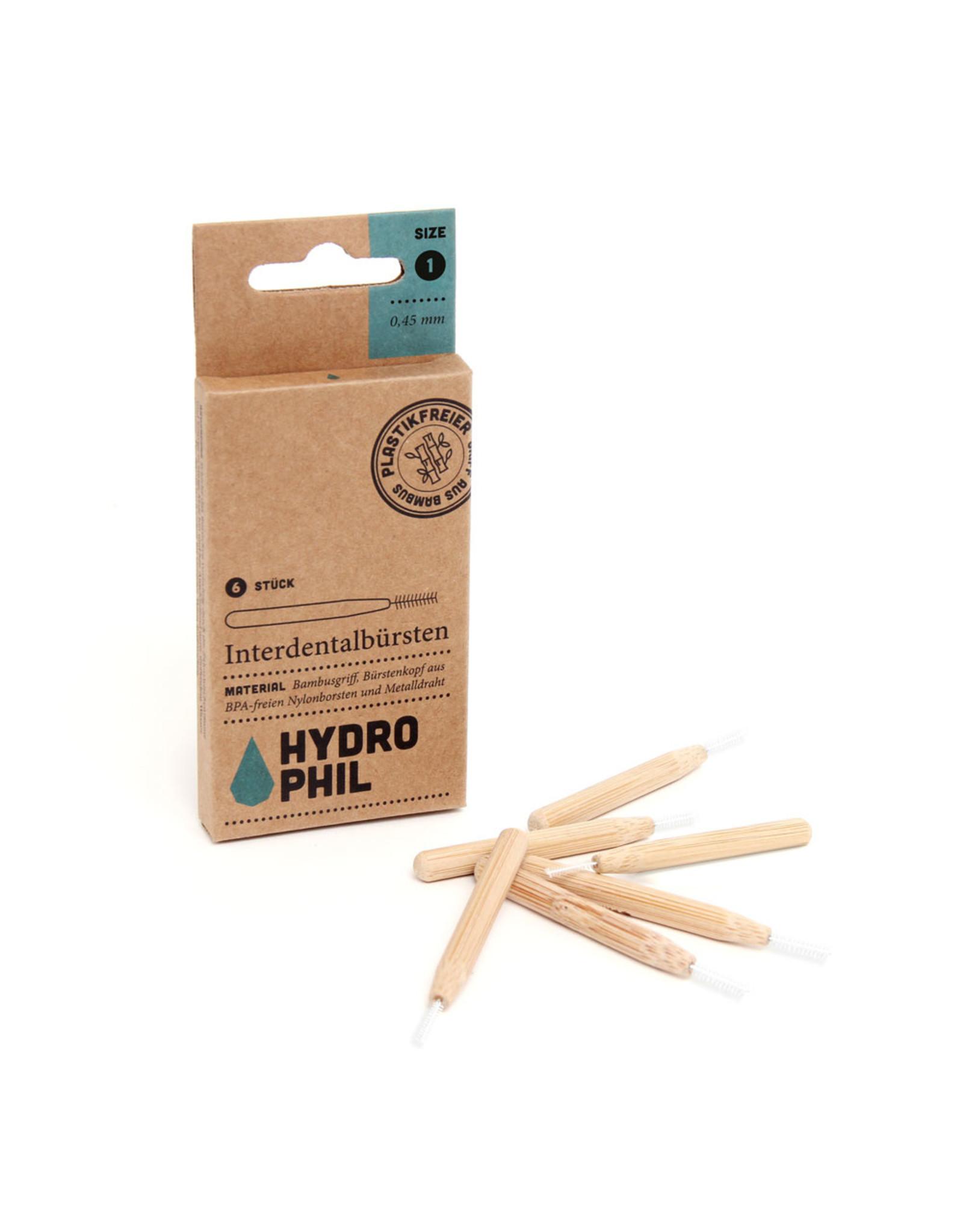 HYDROPHIL Interdental-Bürste 0,50mm 6Stk