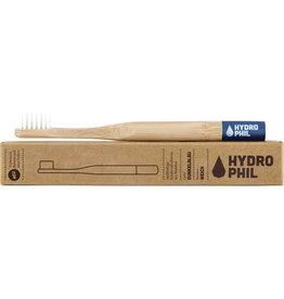 HYDROPHIL Cepillo de dientes infantil de bambú azul extra suave, 1 pieza