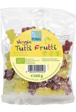 Pural Veggie Tutti Frutti Fruchtgelée ohne Gelatine 100g BIO