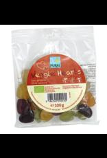 Pural Veggie Hearts Fruchtgummi ohne Gelatine 100g BIO