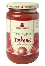 ZWERGENWIESE Salsa de tomate de la Toscana 340 ml.
