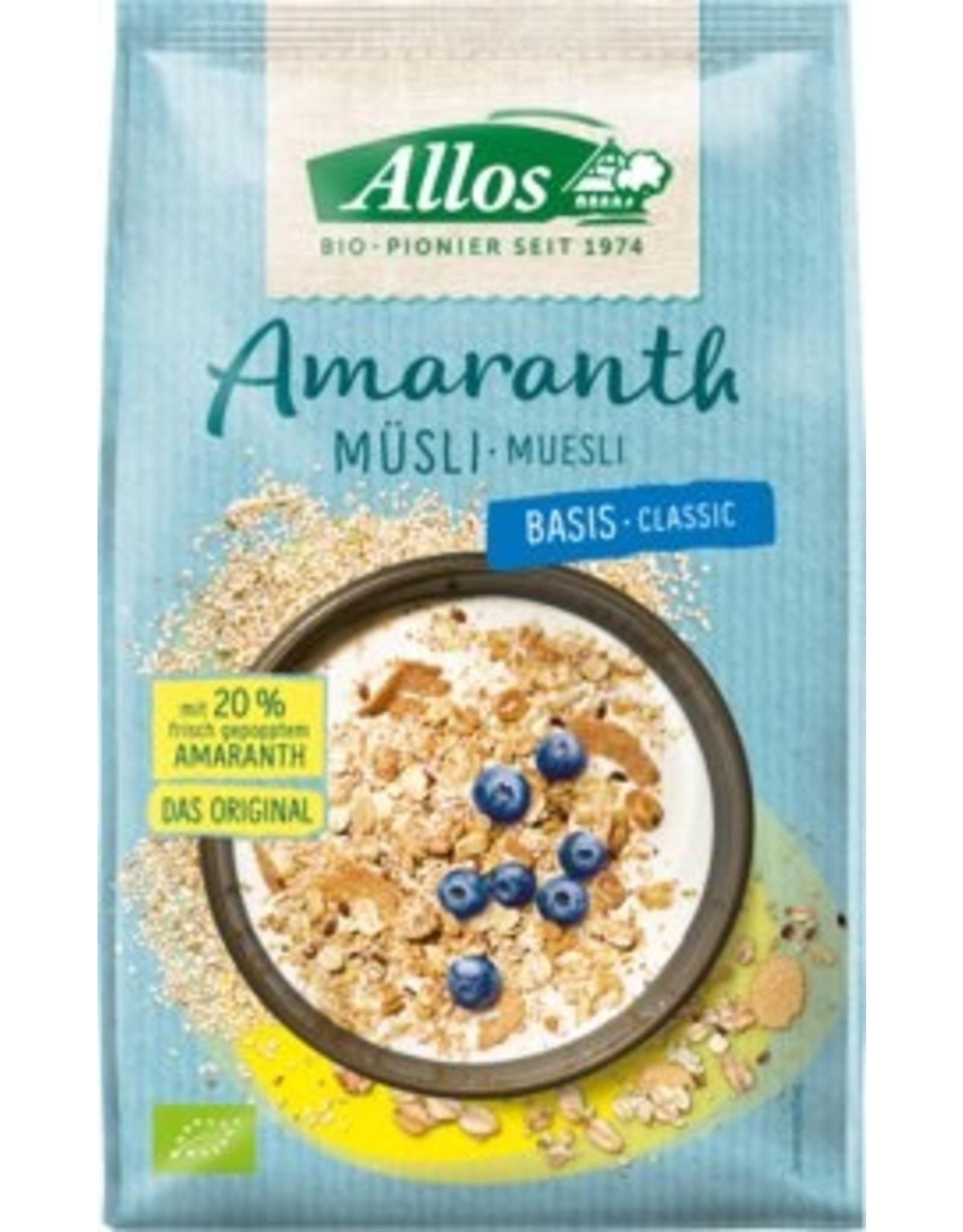 Allos Cereal a base de amaranto 375g