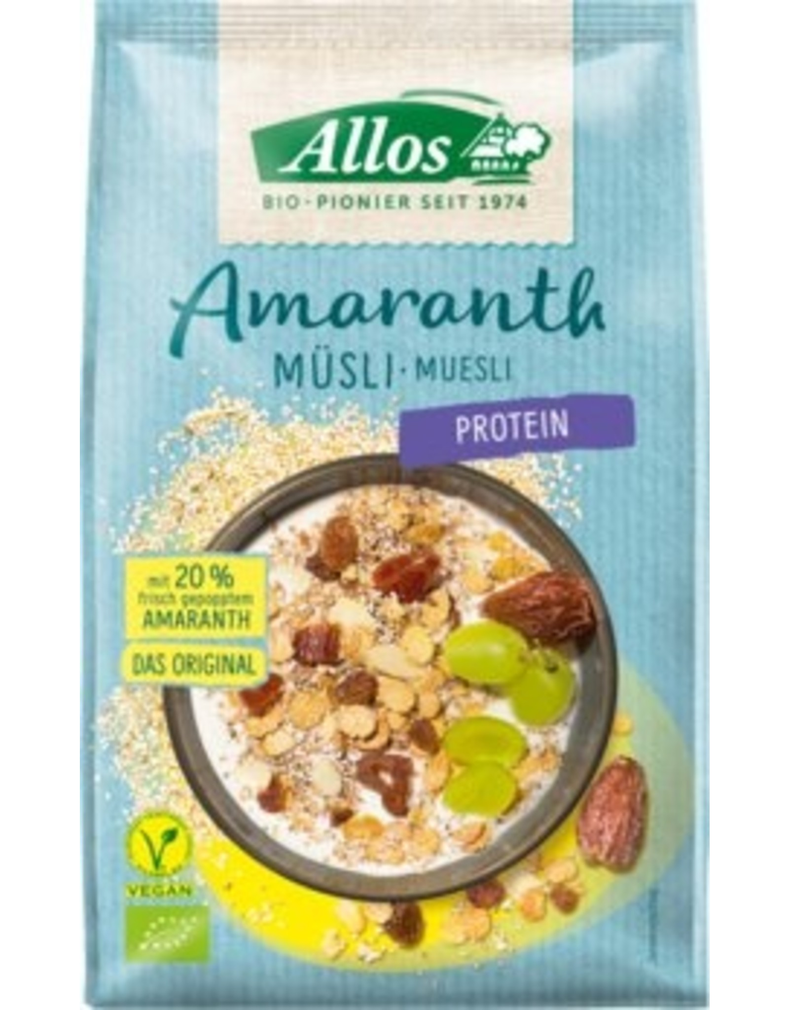 Allos Amaranth Protein Müsli 375g