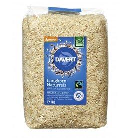 Davert  Arroz natural de grano largo del Reino Unido de primera calidad 1 kg
