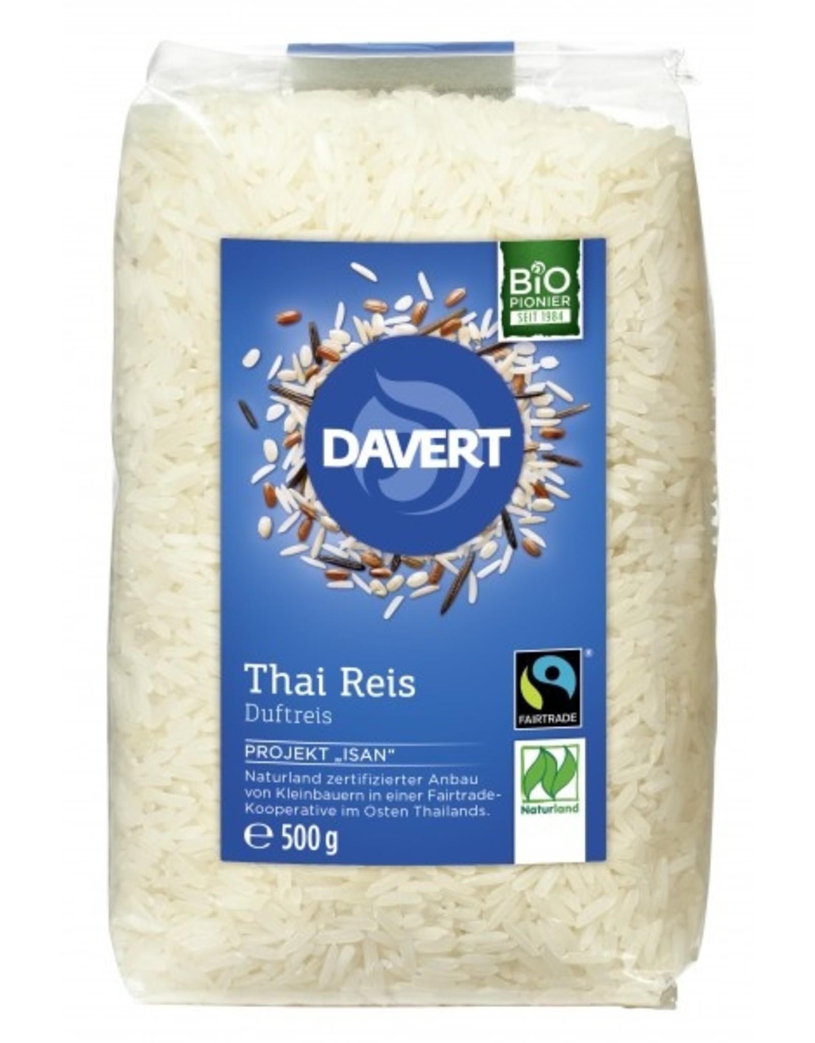 Davert  Thai Reis weißer Langkorn Duftreis 500g