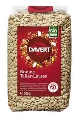 Davert  Braune Teller-Linsen 500g