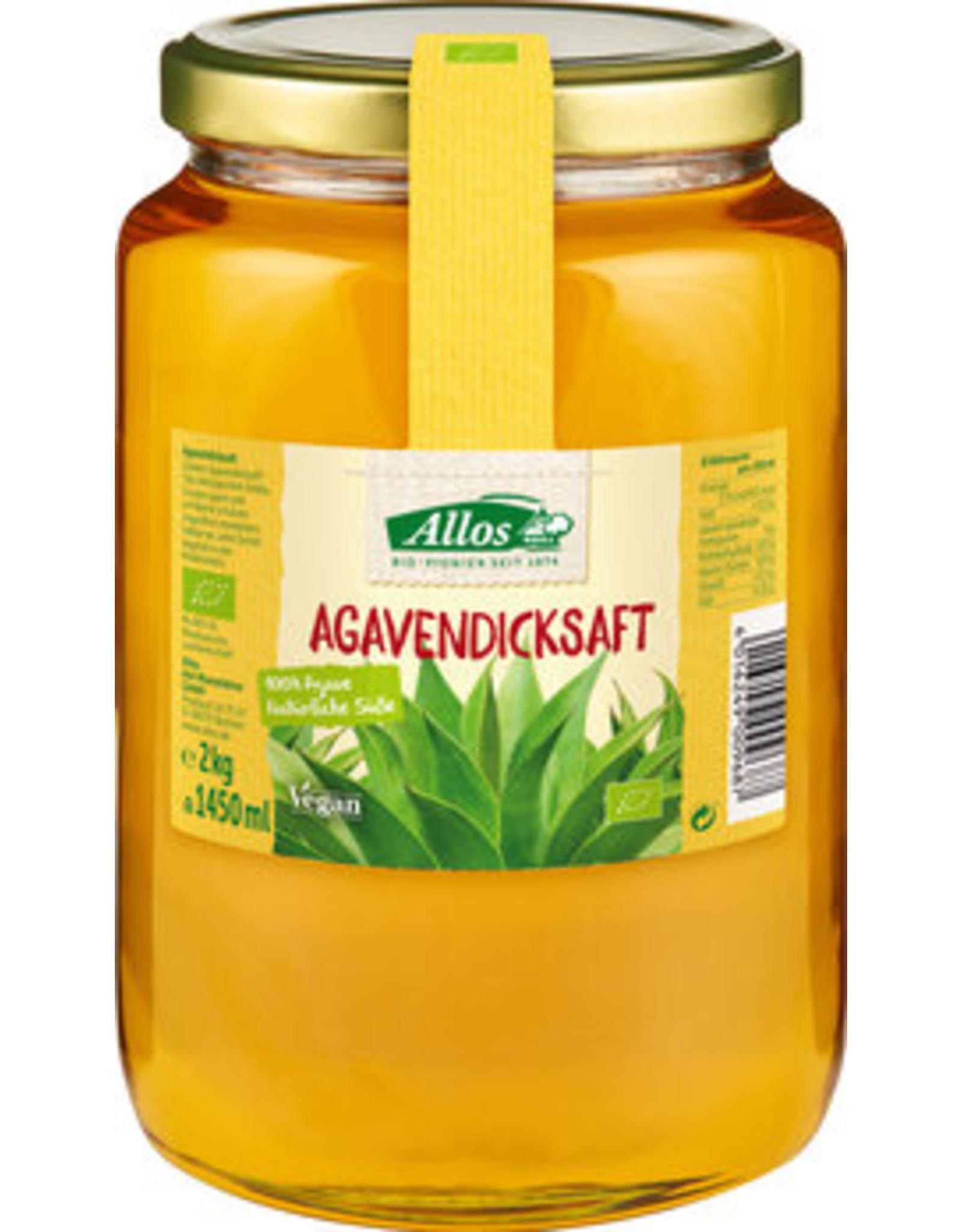 Allos Vaso de jarabe de agave 2 kg
