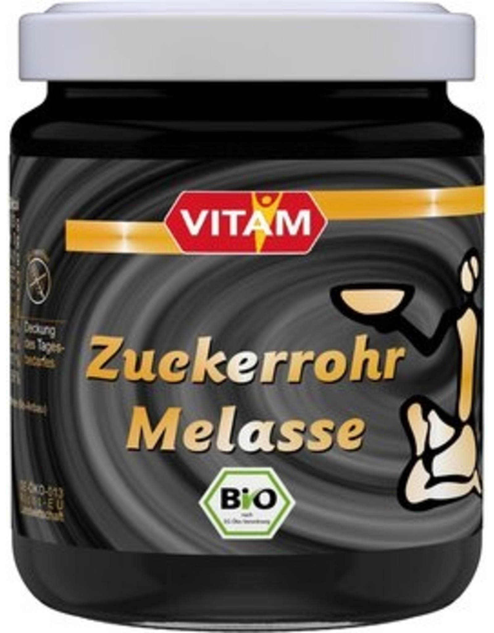 VITAM Appleford's Zuckerrohr Bio-Melasse 300g
