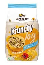 Barnhouse Krunchy Joy Mohn-Orange 30% weniger Zucker 375g