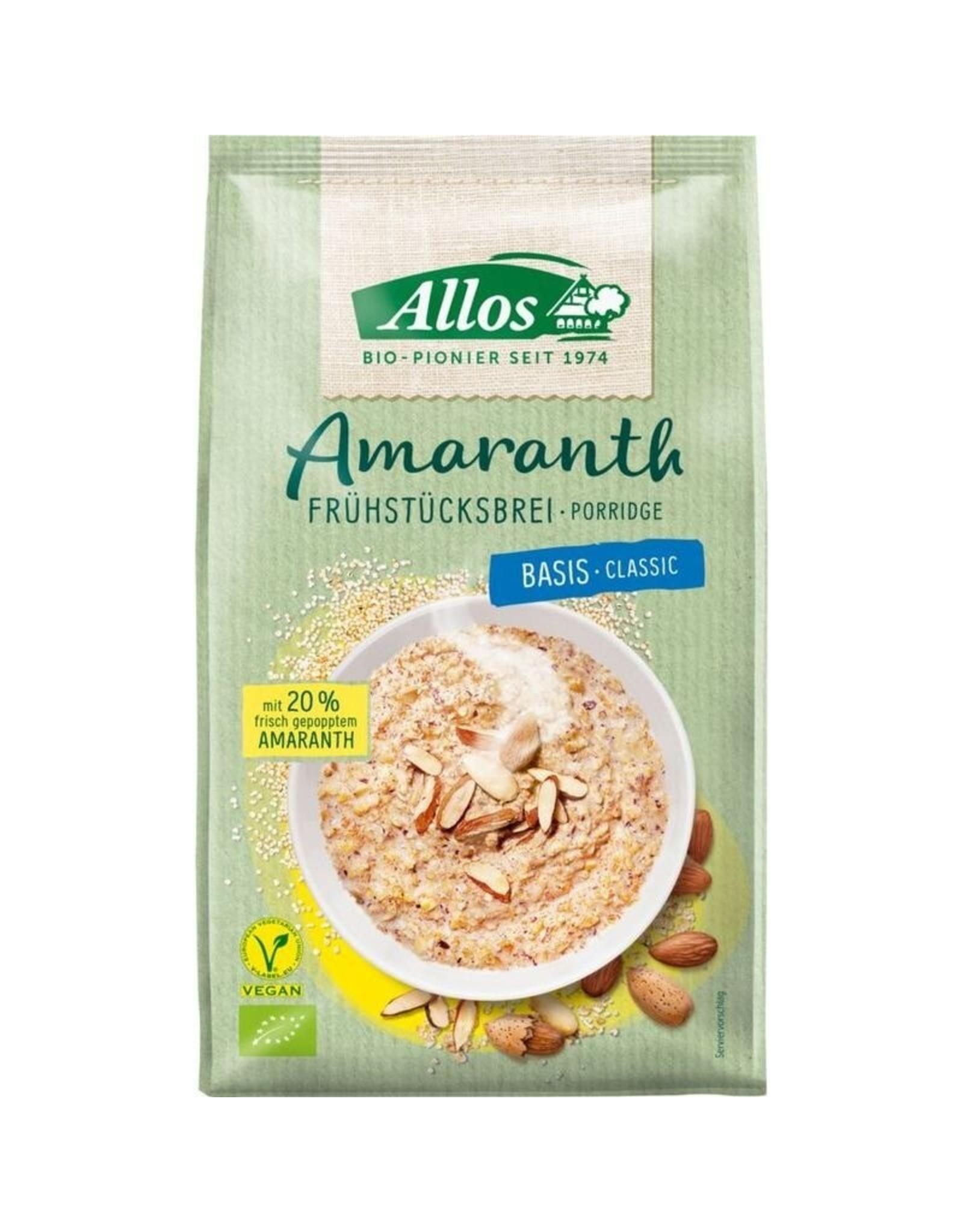 Allos Amaranth Frühstücksbrei Basis 400g