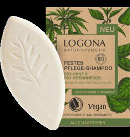 Logona Festes Pflege Shampoo Bio-Hanf & Bio-Brennnessel 60g