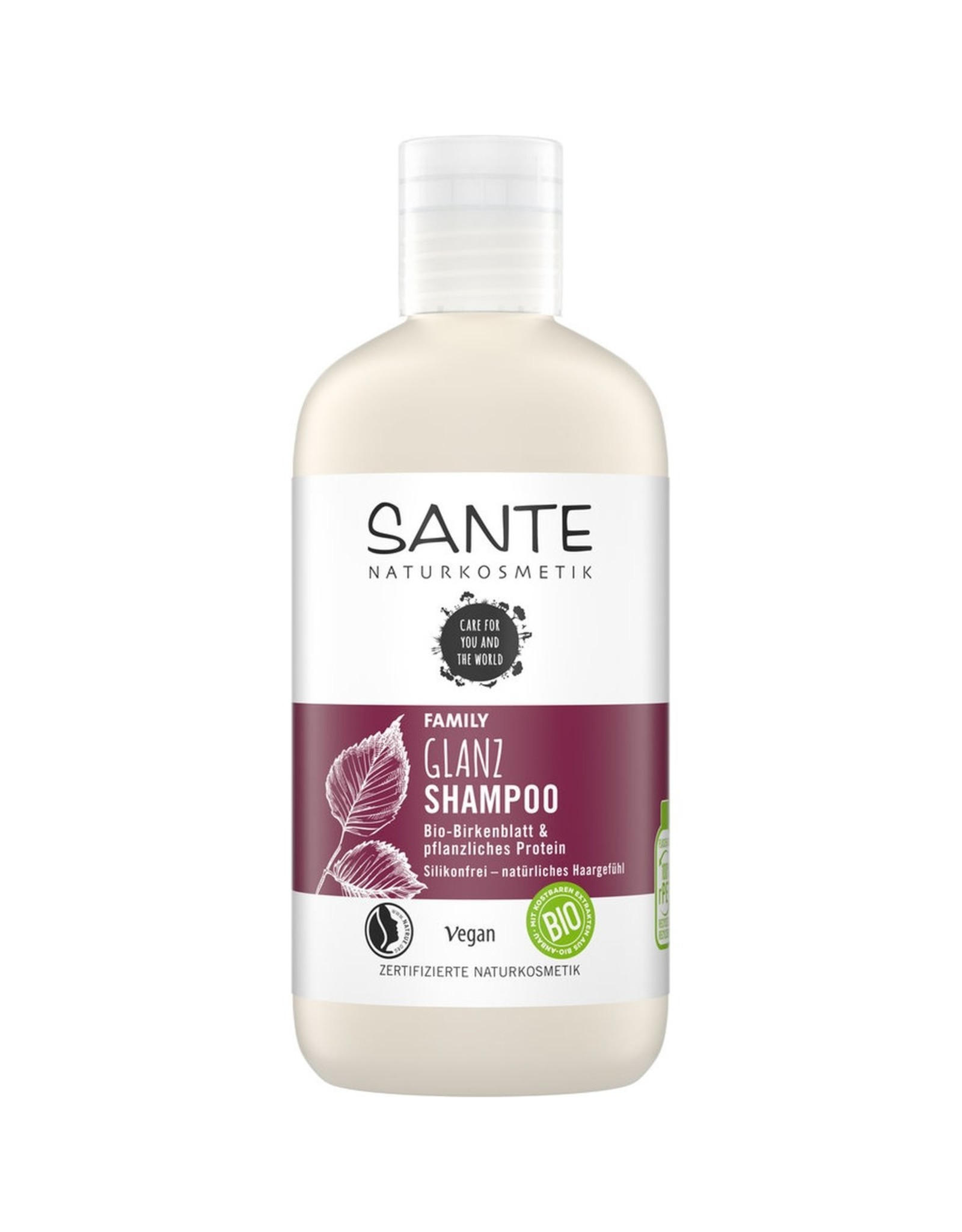 SANTE Family Glanz Shampoo Bio-Birkenblatt & pflanzl. Protein 250ml