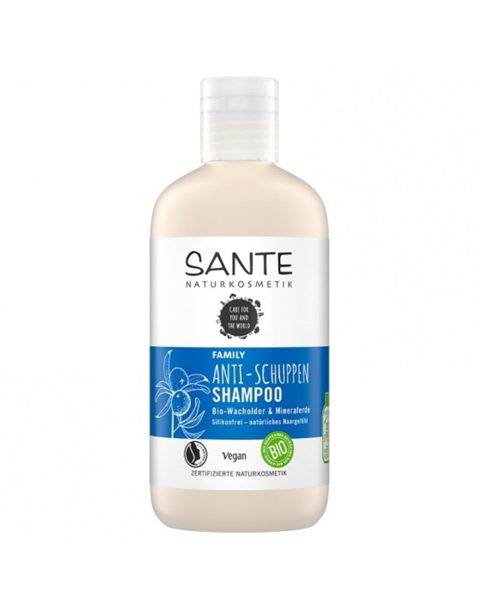 SANTE Family Anti-Schuppen Shampoo Bio-Wacholder & Mineralerde 250ml
