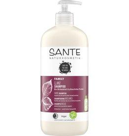 SANTE Champú Family Brillo Hoja de abedul y plantas orgánicas Proteína 950ml