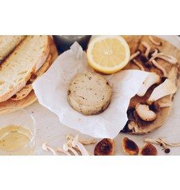 LA CARLETA Veganer Käse gereift aus Cashewnuss-getrüffelt mit Pilzen