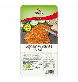 WHEATY Veganer Aufschnitt Sucuk 100g