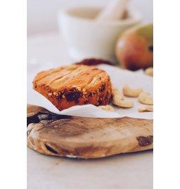 LA CARLETA Gereifter veganer Cashew-Käse mit Gewürzen und Mango