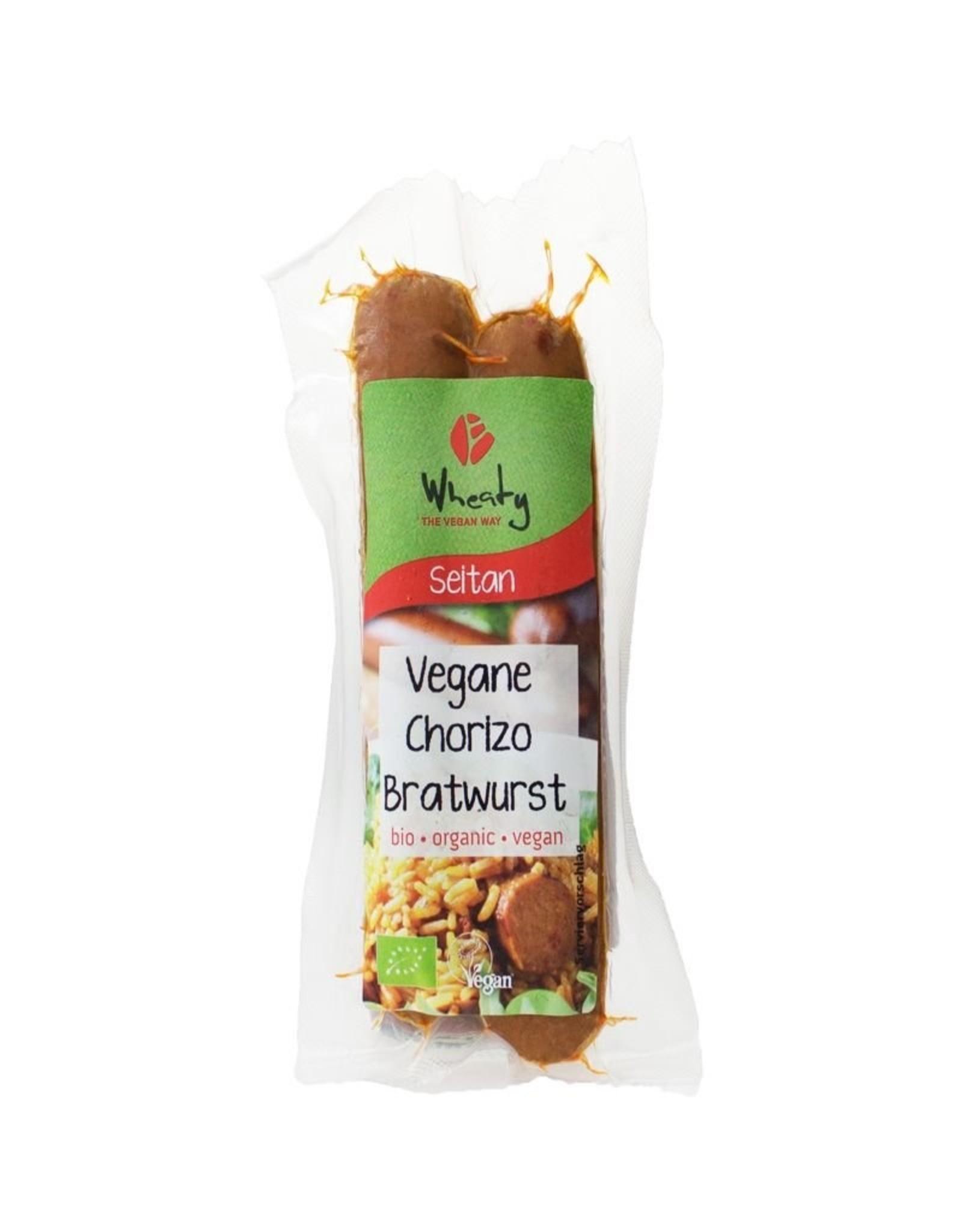 WHEATY Vegane Chorizo-Bratwurst 130g