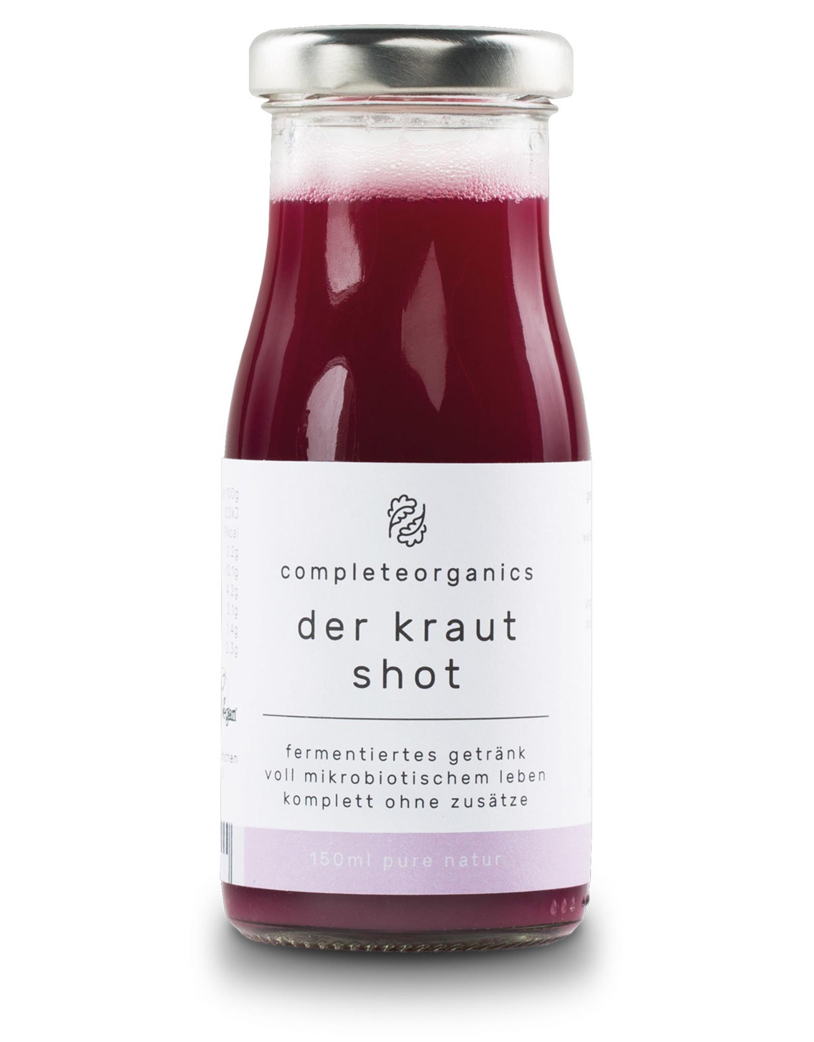 Completeorganics der kraut shot Sauerkrautsaft 150ml