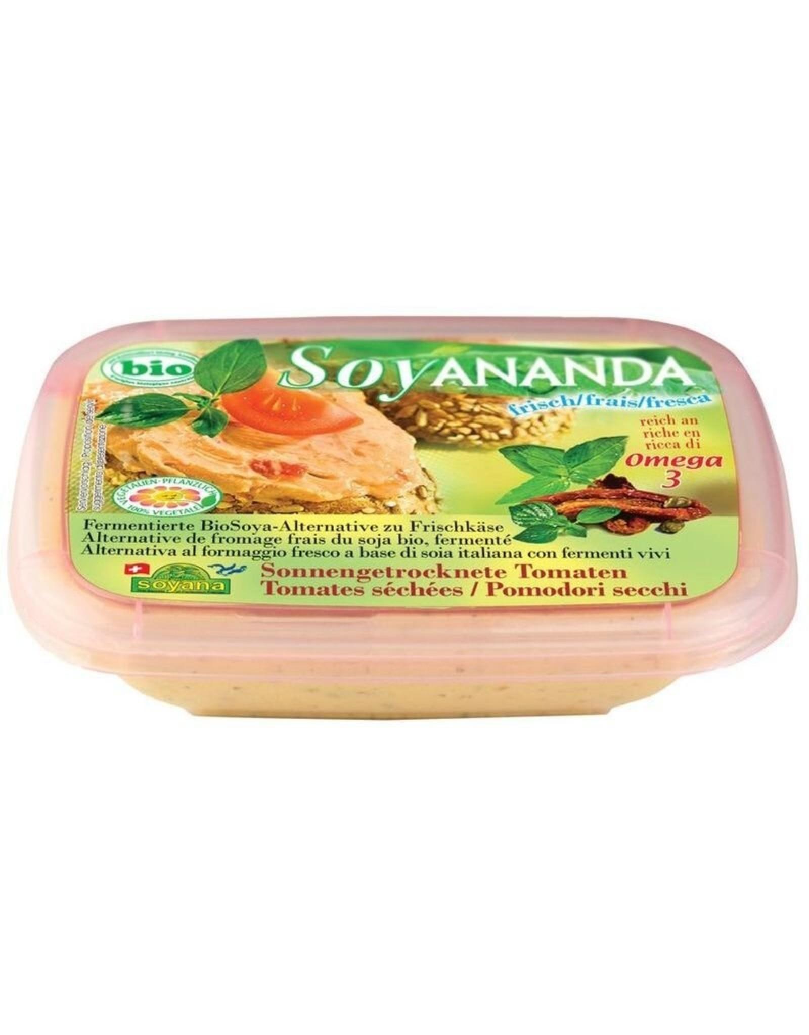 Soyana Frischkäse-Alternative Tomate 140g