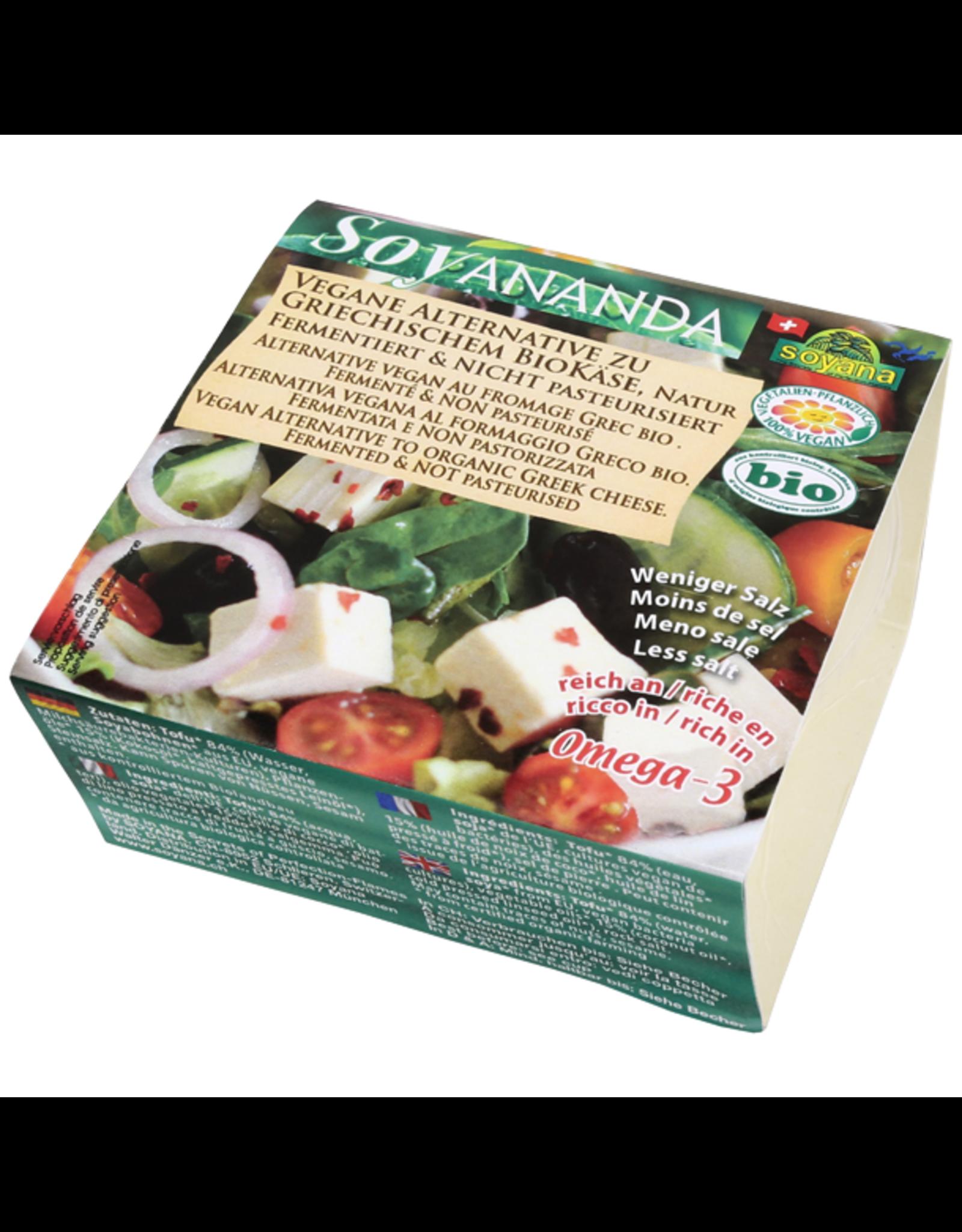 Soyana Alternative zu Griechischem Käse Natur 200g