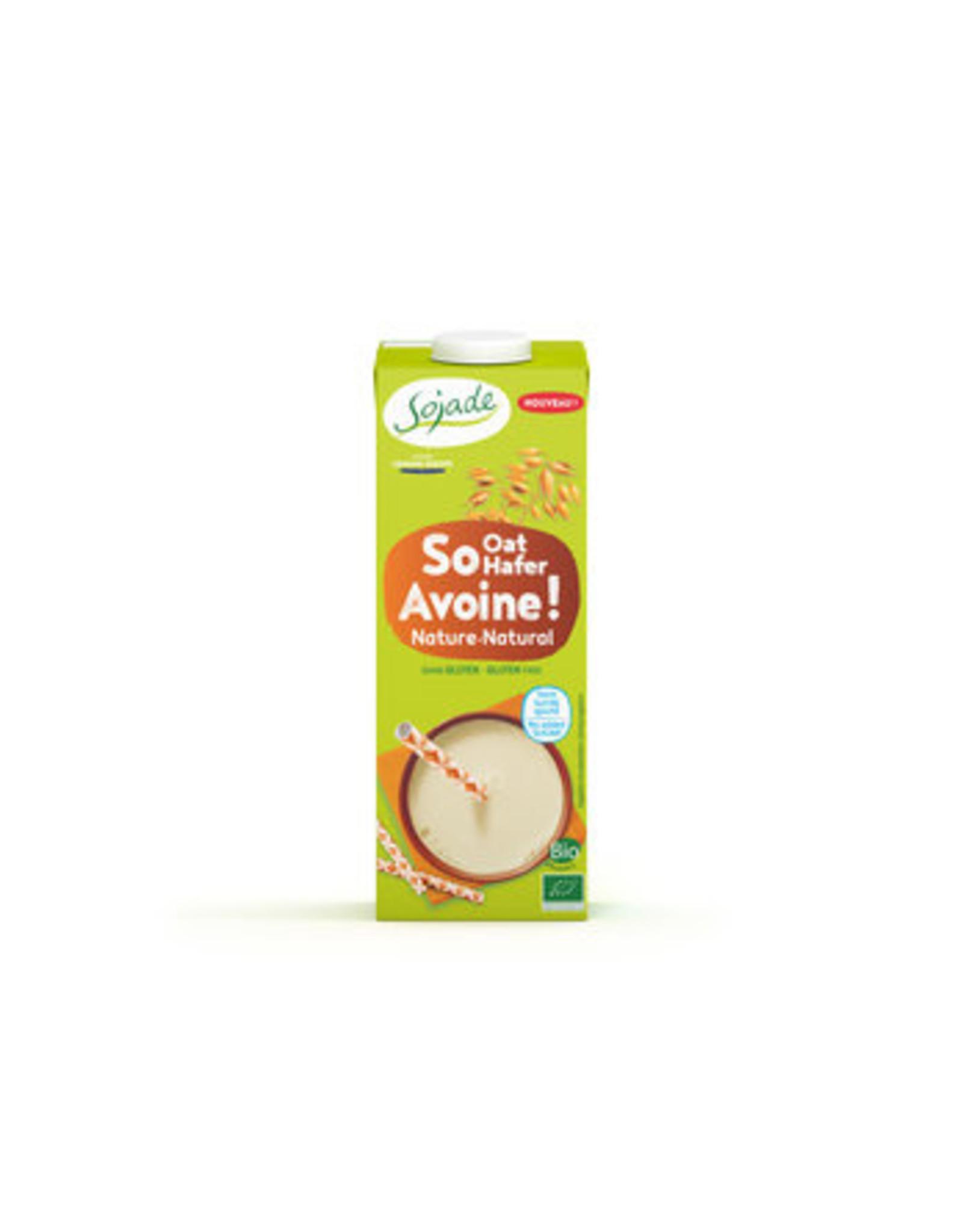 SOJADE Bebida de Avena Natural 1L