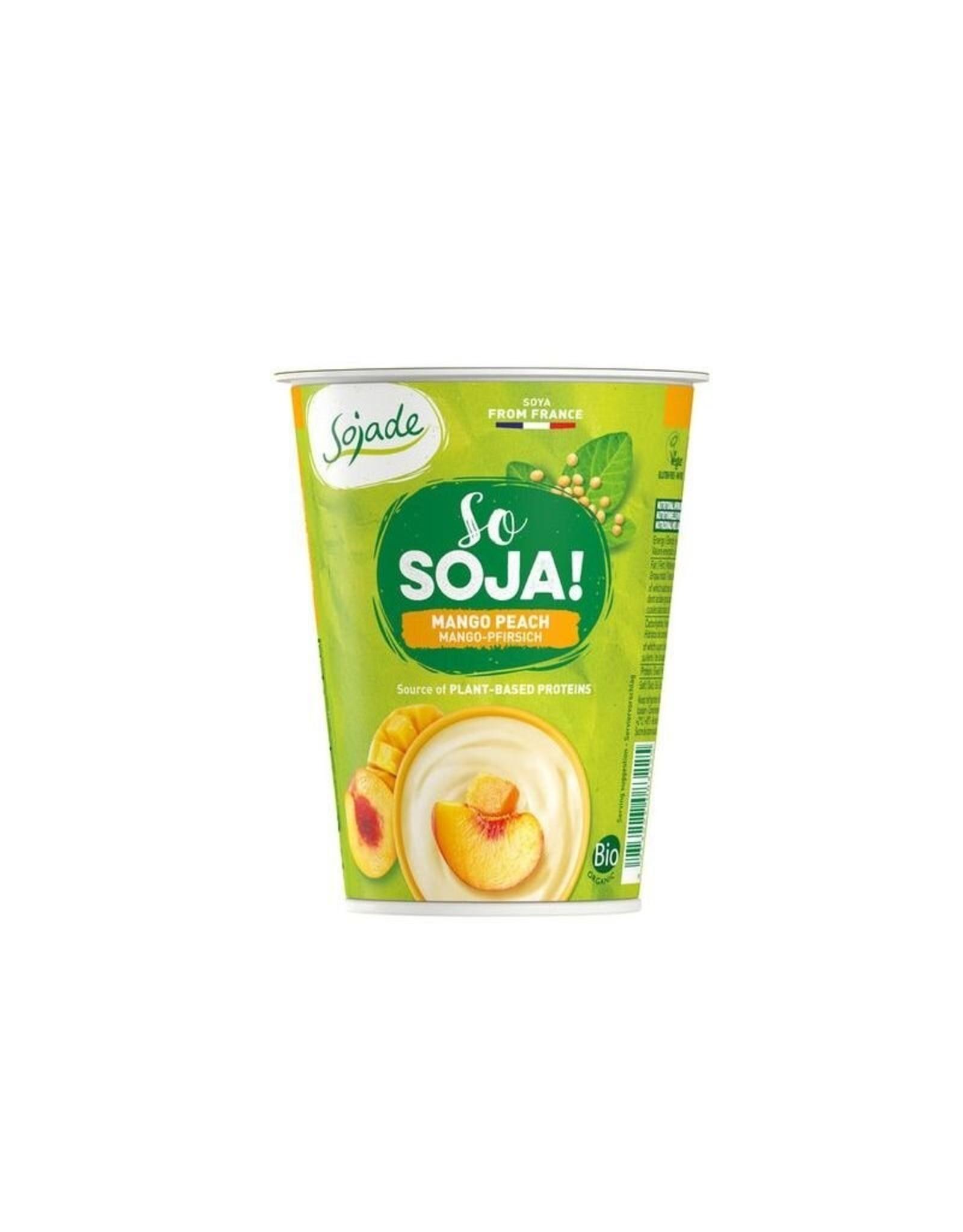 SOJADE Soja-Spezialität Mango-Pfirsich 400g