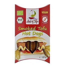 Lord of Tofu Perritos calientes de tofu ahumado 120g