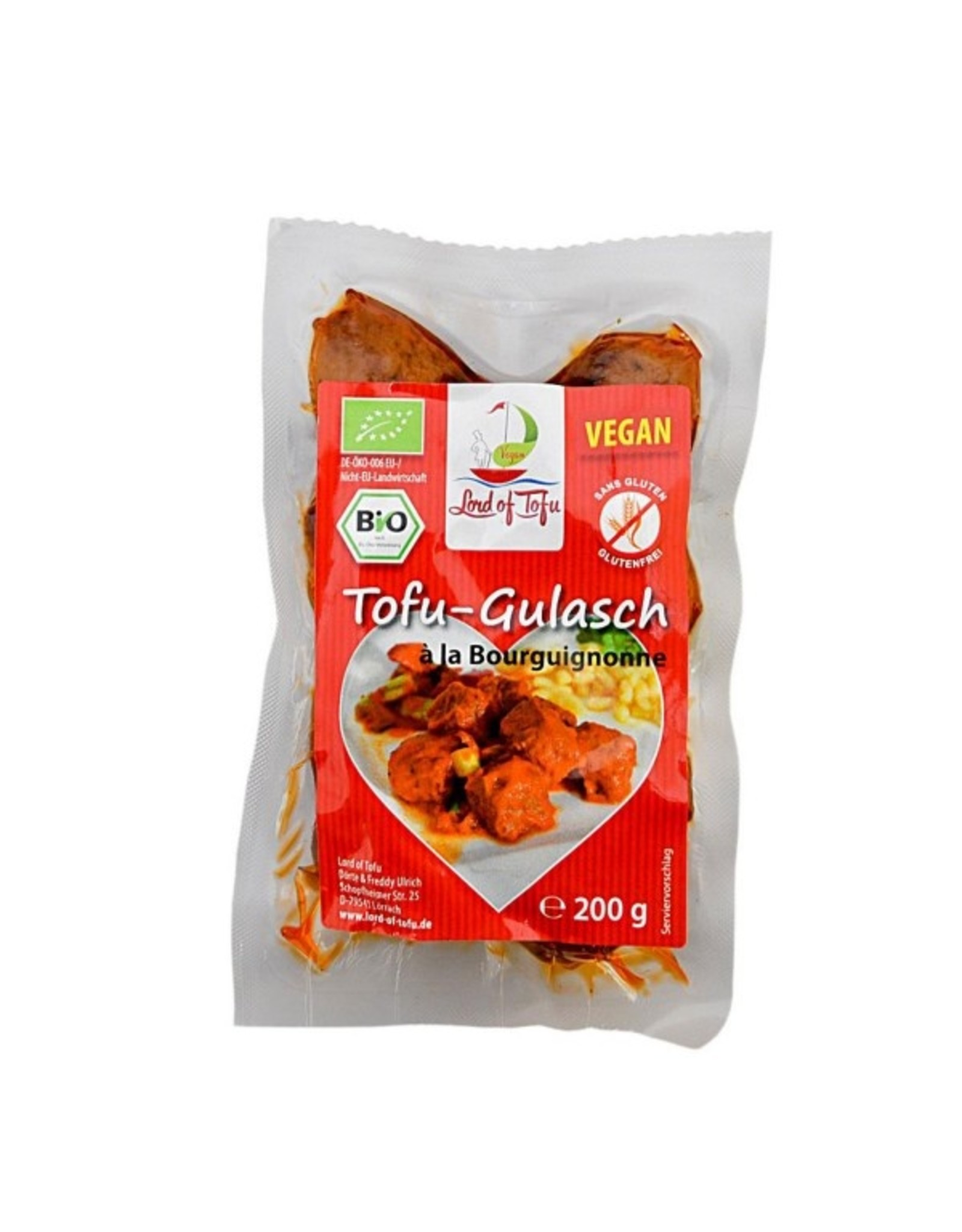Lord of Tofu Soja-Gulasch 200g