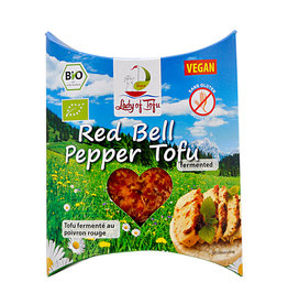 Lord of Tofu Tofu mit Paprika/ Red Bell 130g