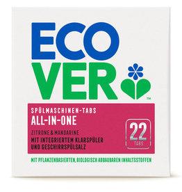 Ecover All-In-One Spülmaschinen-Tabs 22 Stück 440g