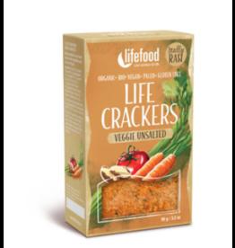 Crackers Verduras sin sal 90g