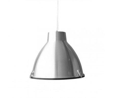 LEF collections Hanglamp Industry zilver grijs metaal 42x42x37cm