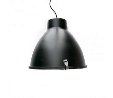 LEF collections Hanglamp Industry zwart metaal 42x42x37cm