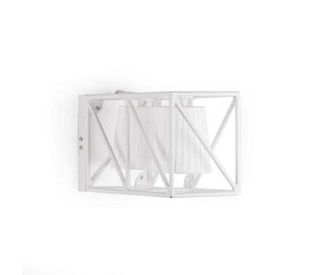 Seletti Wandlamp Multilamp Wall white wit metaal 38x22x17,5cm