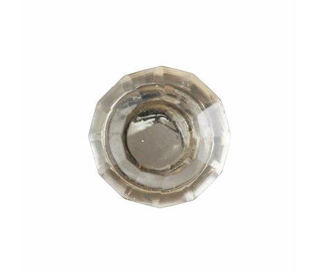 Housedoctor Deurknop All Glass Clear, glas metaal 2 maten
