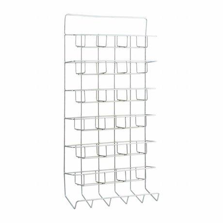 Housedoctor Wandrek All wit metaal 45x12x90cm