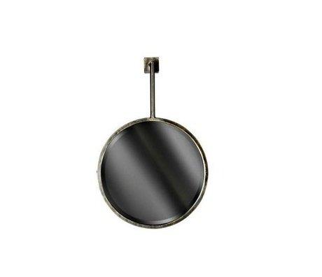 BePureHome Spiegel Chain mirror zwart metaal 47x30x6cm