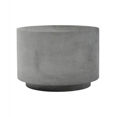 Housedoctor Tafel Fifty grijs glasvezel klei 50x50x35cm