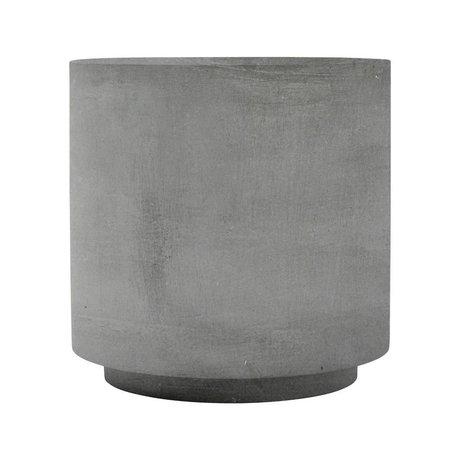 Housedoctor Tafel Fifty grijs glasvezel klei 50x50x50cm