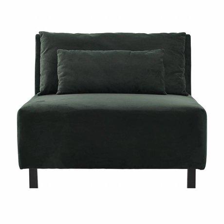 Housedoctor Sofa 2 Cushions Box belunga groen metaal polyester 90x100x75cm