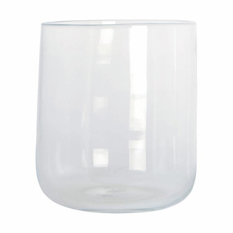 Housedoctor Vaas Johanna transparant glas ø 19x23cm