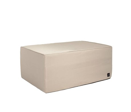 Vetsak Hocker Free outdoor beige polyester L 90x58x40cm