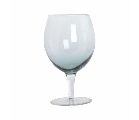 Housedoctor Wijnglas Ball groen glas h:17 cm