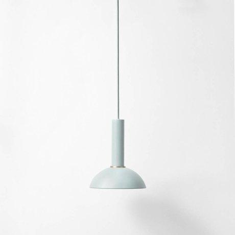 Ferm Living Hanglamp Hoop high dusty blauw metaal